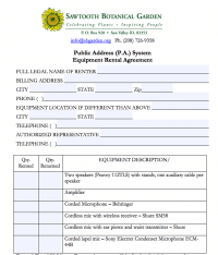 Rental Agreement image